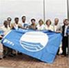 Blaue Flagge der FEE