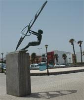 Pozo Izquierdo Statue