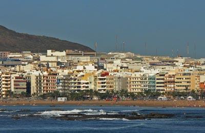Kalkriff in Las Palmas de Gran Canaria