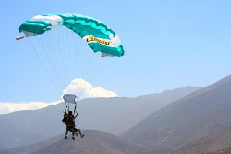 Fallschirmspringen auf Gran Canaria